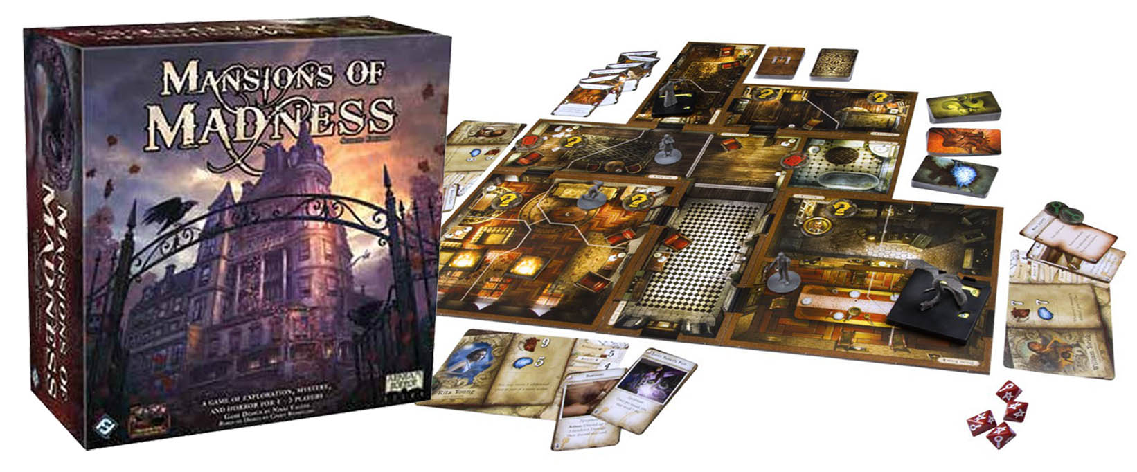 Think Mansions Of Madness 2nd Edition Is Good It Could